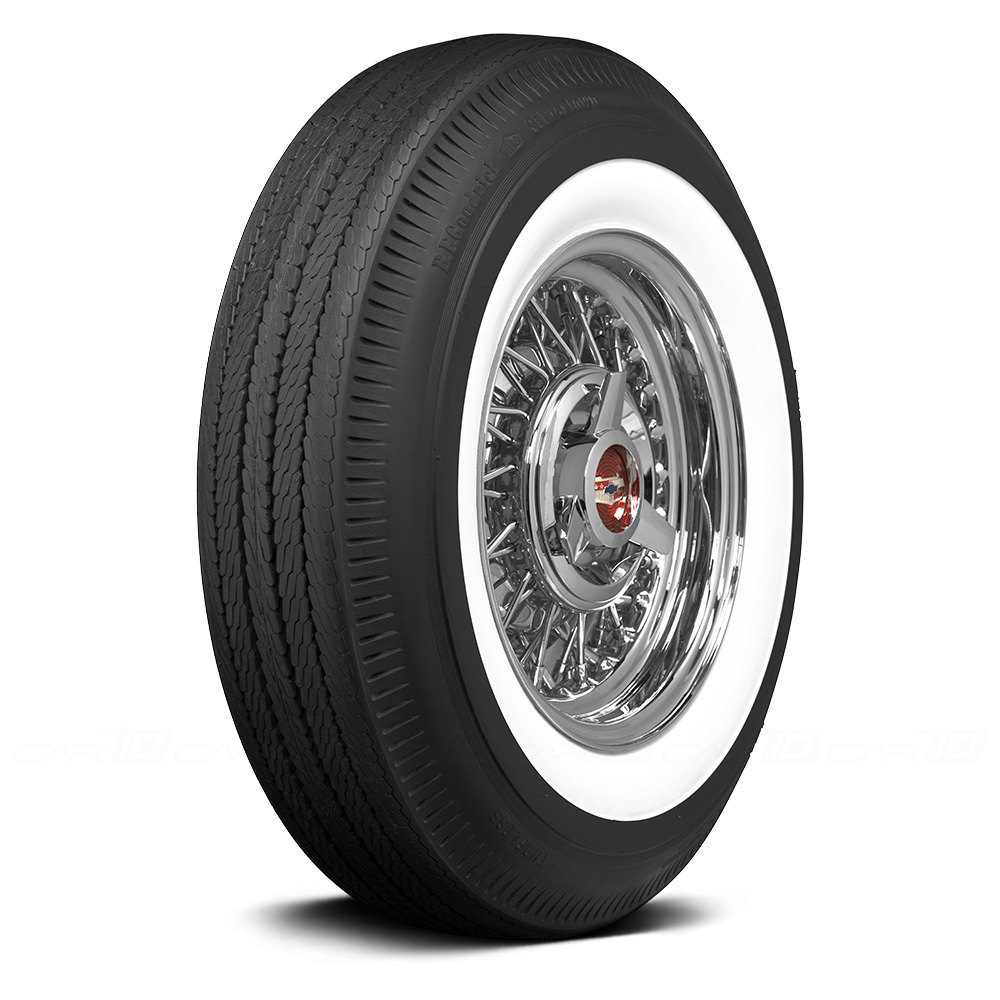 coker tire 579811 bfgoodrich 2 1 4 inch whitewall bias 165r15 s ebay. Black Bedroom Furniture Sets. Home Design Ideas