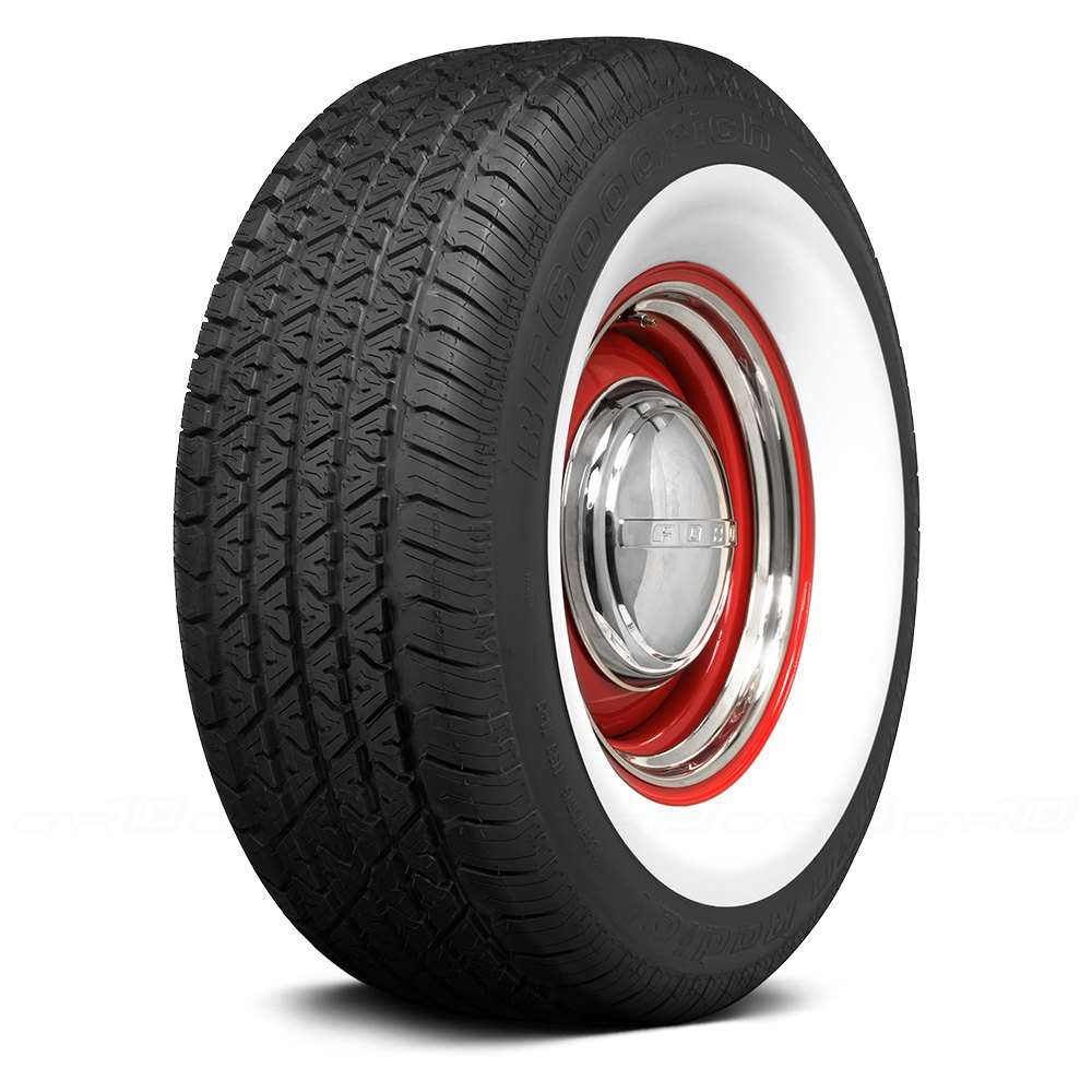 COKER® BF GOODRICH 3 1/2 INCH WHITEWALL Tires