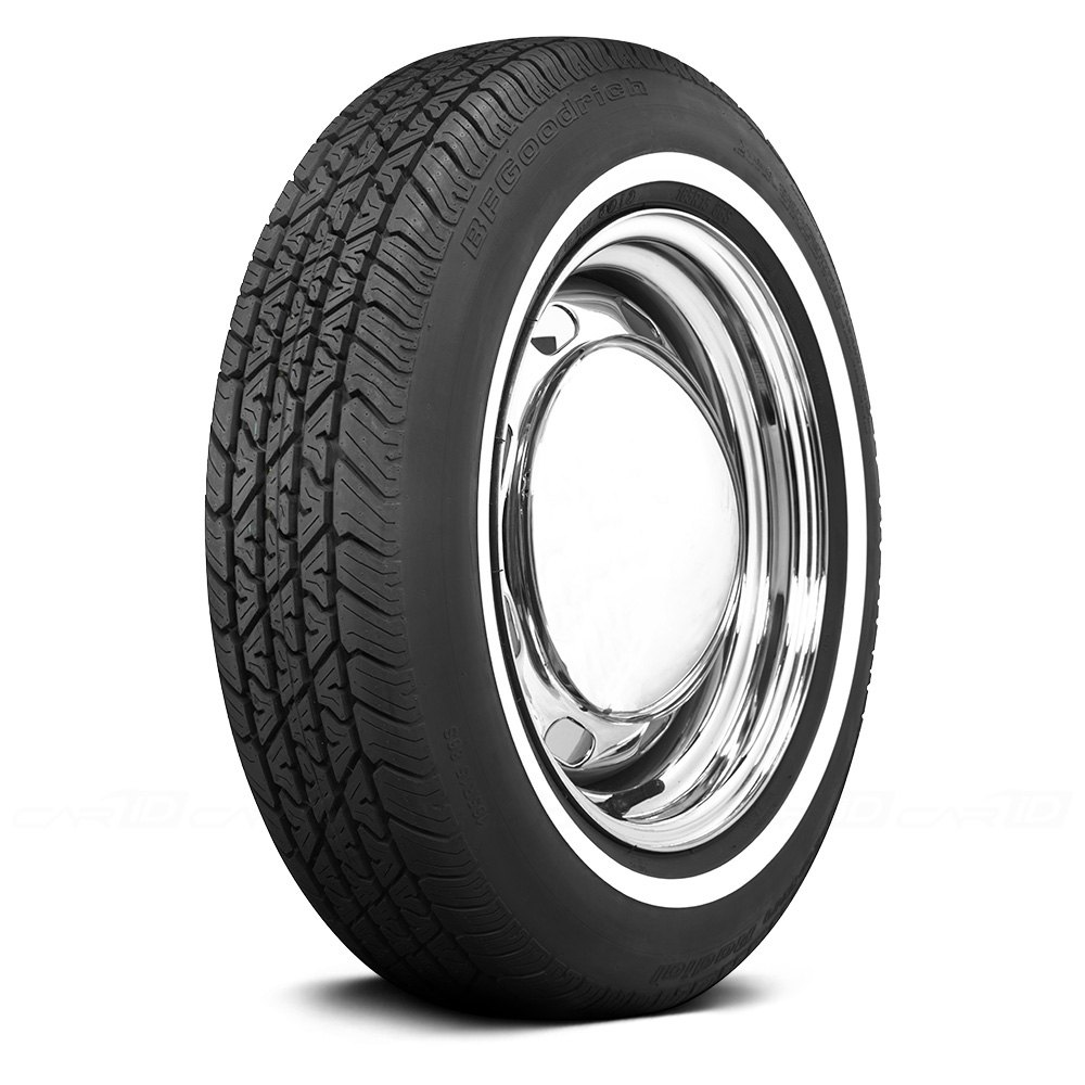 coker tire 579810 bfgoodrich 3 4 inch whitewall 165r15 s ebay. Black Bedroom Furniture Sets. Home Design Ideas