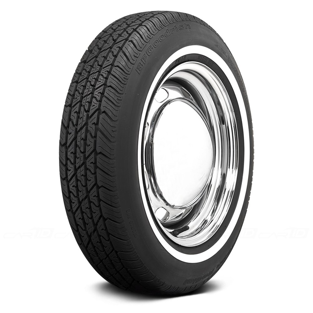 coker tire 579844 bfgoodrich 7 16 inch whitewall p195 70r13 s ebay. Black Bedroom Furniture Sets. Home Design Ideas