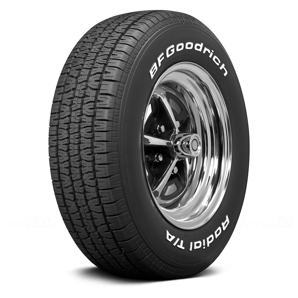 tires with white letters coker 174 bf goodrich radial t a white letter tires 17652