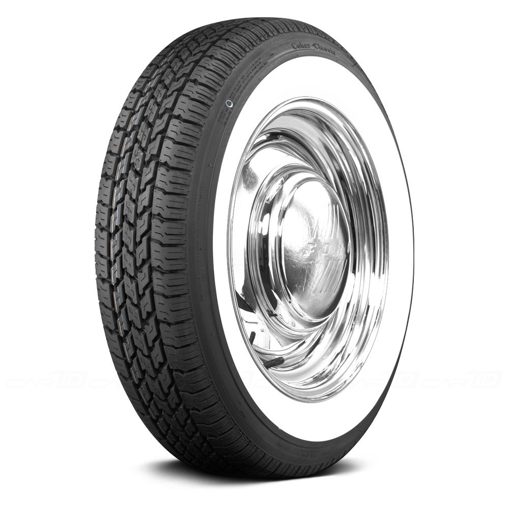 COKER Tire 568745 - Classic 2 1/4 WW Inch Whitewall 165R15 ...