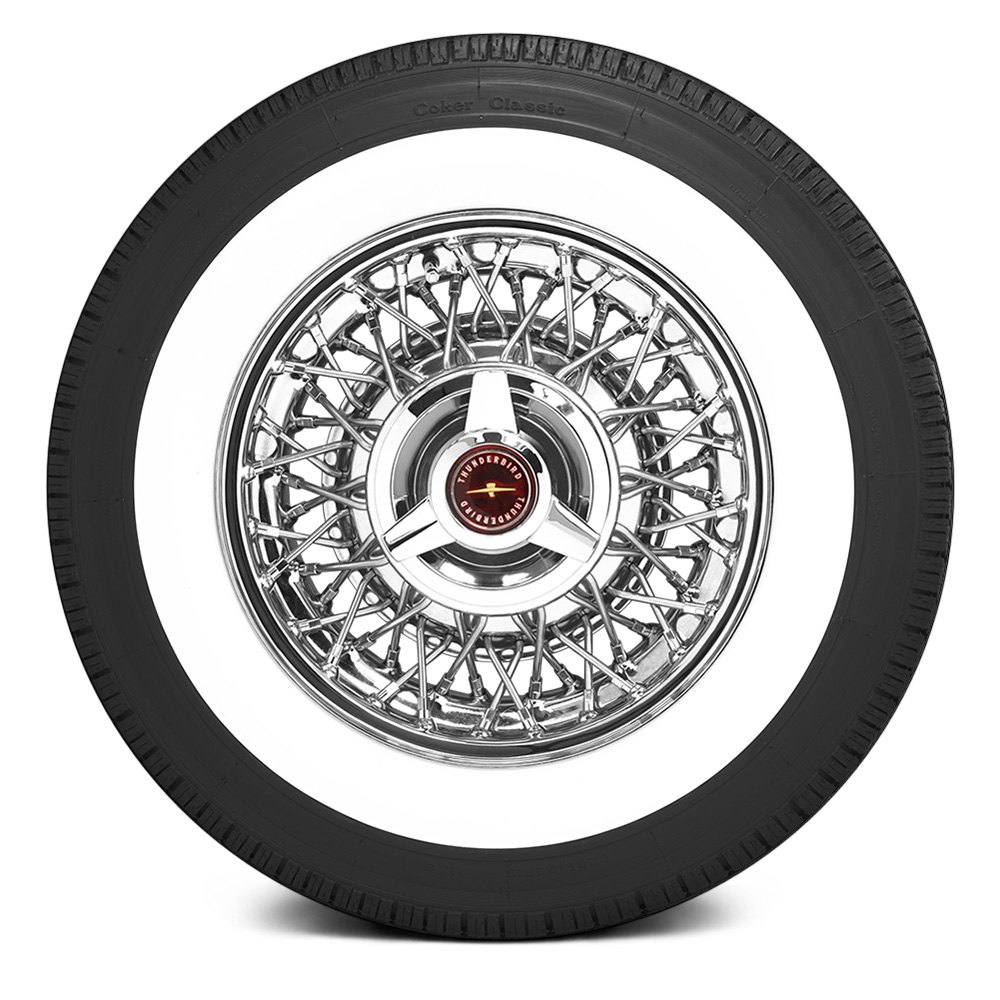 Coker 174 Classic 2 3 4 Ww Inch Whitewall Tires