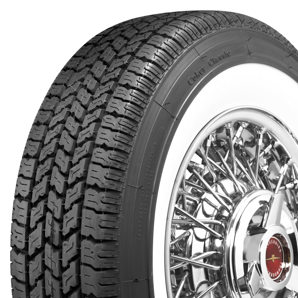 P205 75R15 Tires >> Coker Set of 4 Tires P205/75R15 P CLASSIC 2 3/8 WW INCH ...