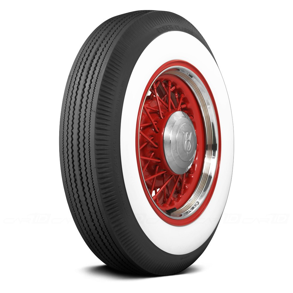 COKER® CLASSIC 3 INCH WHITEWALL Tires