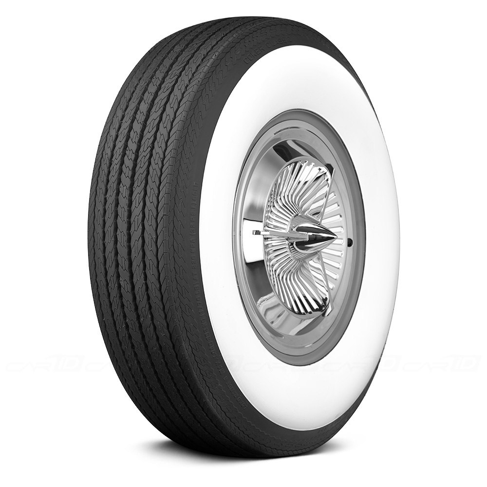 COKER Tire 62861 - Classic 4 7/16 Inch Whitewall H78-15