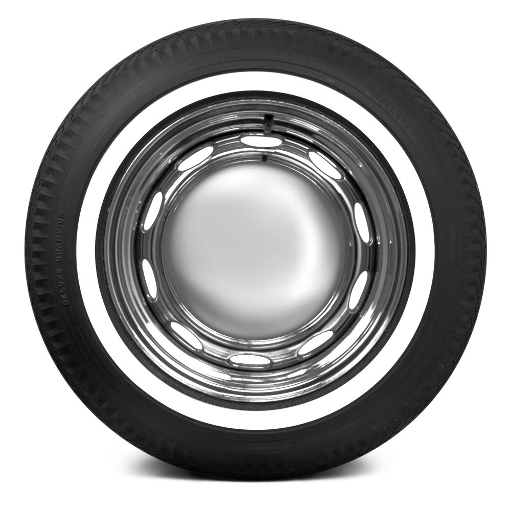 coker tire firestone 1 inch whitewall