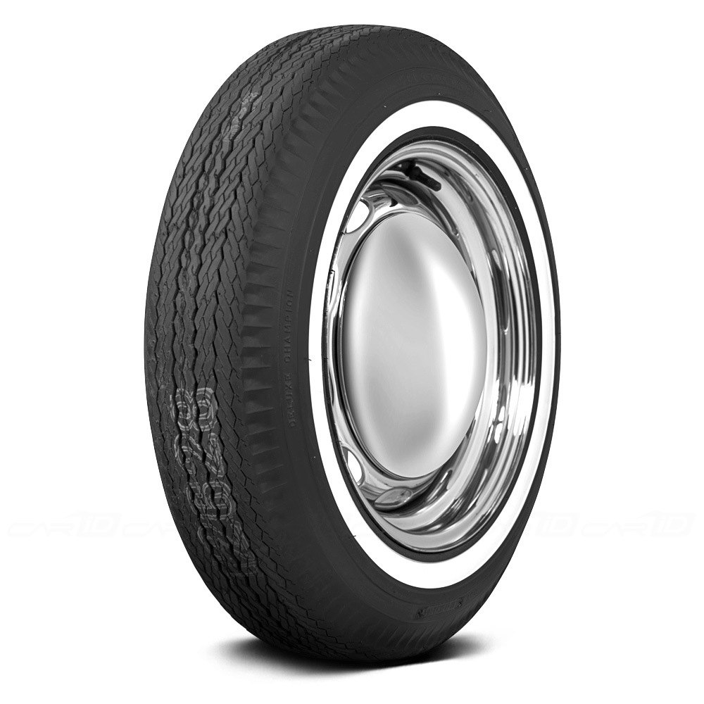 COKER® FIRESTONE 1 INCH WHITEWALL Tires
