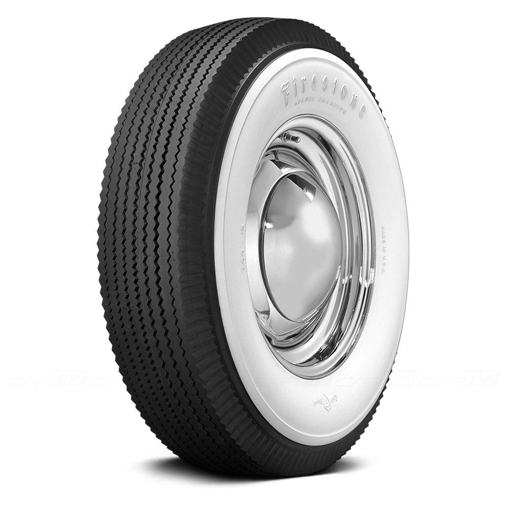 COKER Tire 587110 - Firestone 4 1/8 Inch Whitewall 700-15 ...
