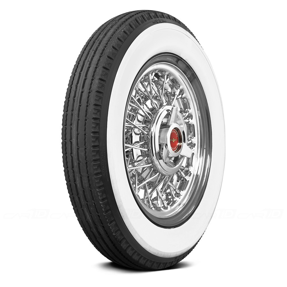 COKER Tire 75570 - U.S. Royal 3.5 Inch Whitewall 600-20