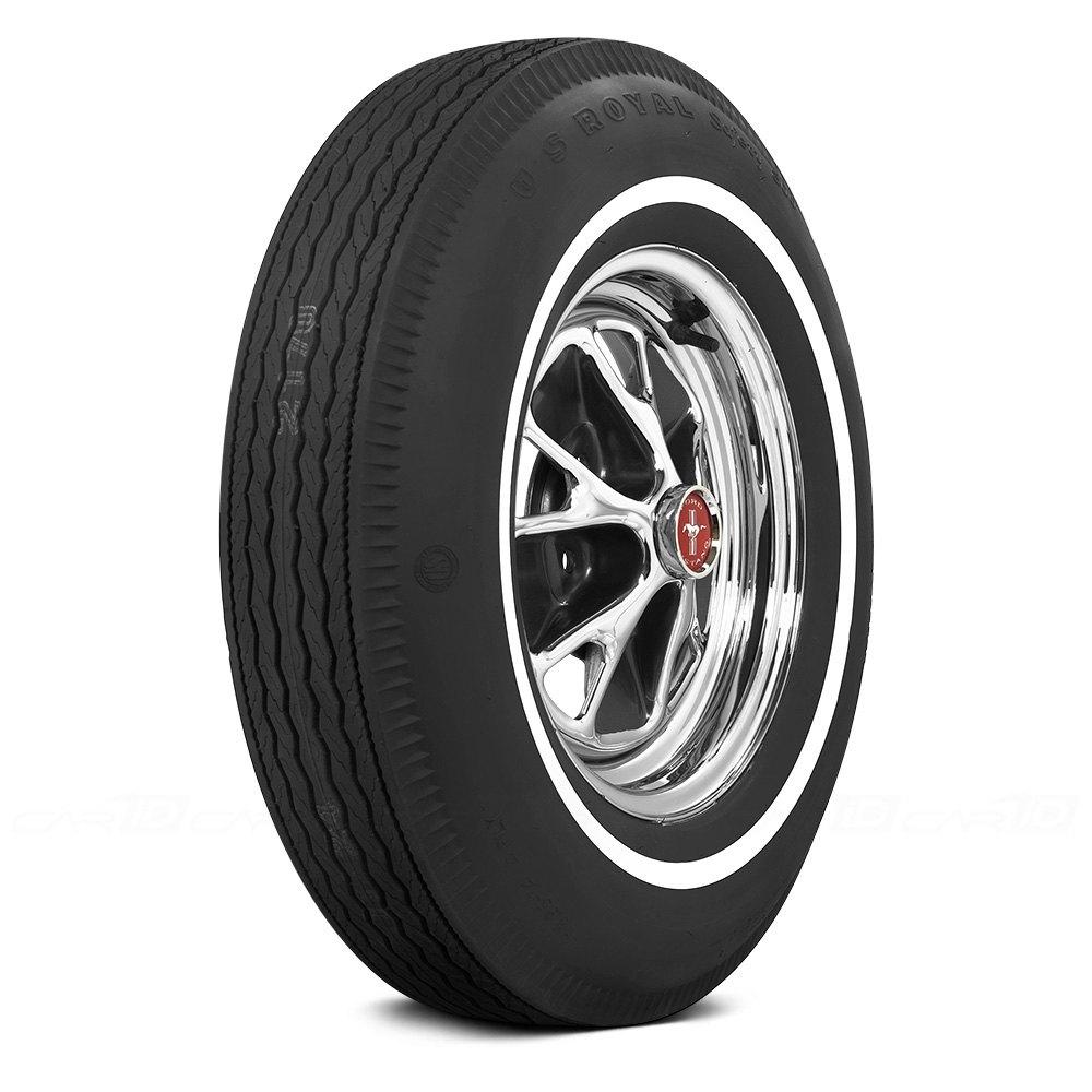 COKER Tire 51380 - U.S. Royal 5/8 Inch Whitewall 695-14