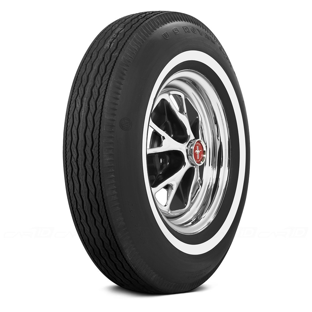 COKER® U.S. ROYAL 7/8 INCH WHITEWALL Tires