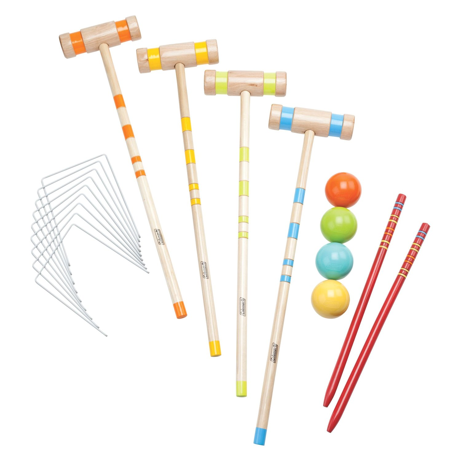 Croquet Game : Coleman? 2000012471 - Croquet Sport Outdoor Game Set