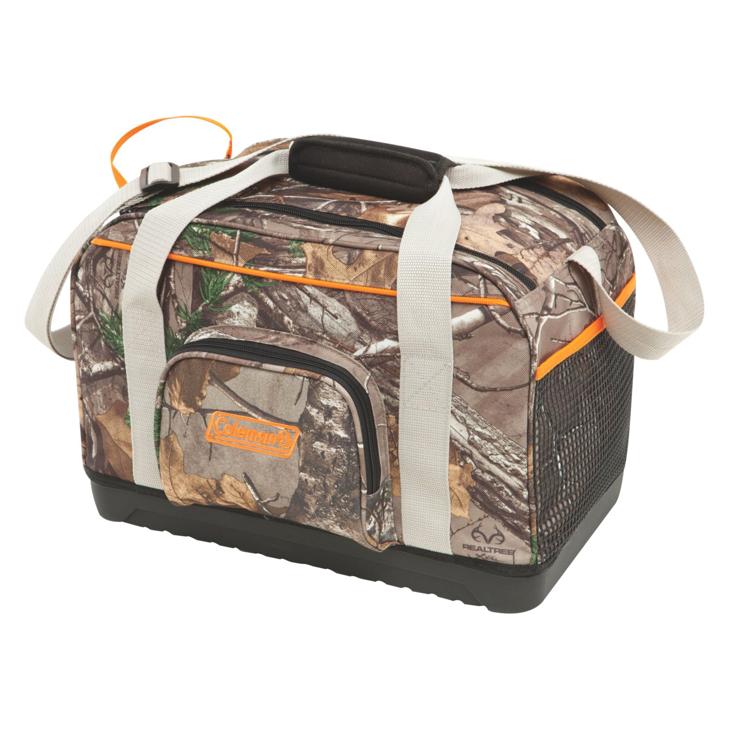 Coleman Camouflage Coolers ~ Coleman can realtree ap camo dual zip cooler ebay