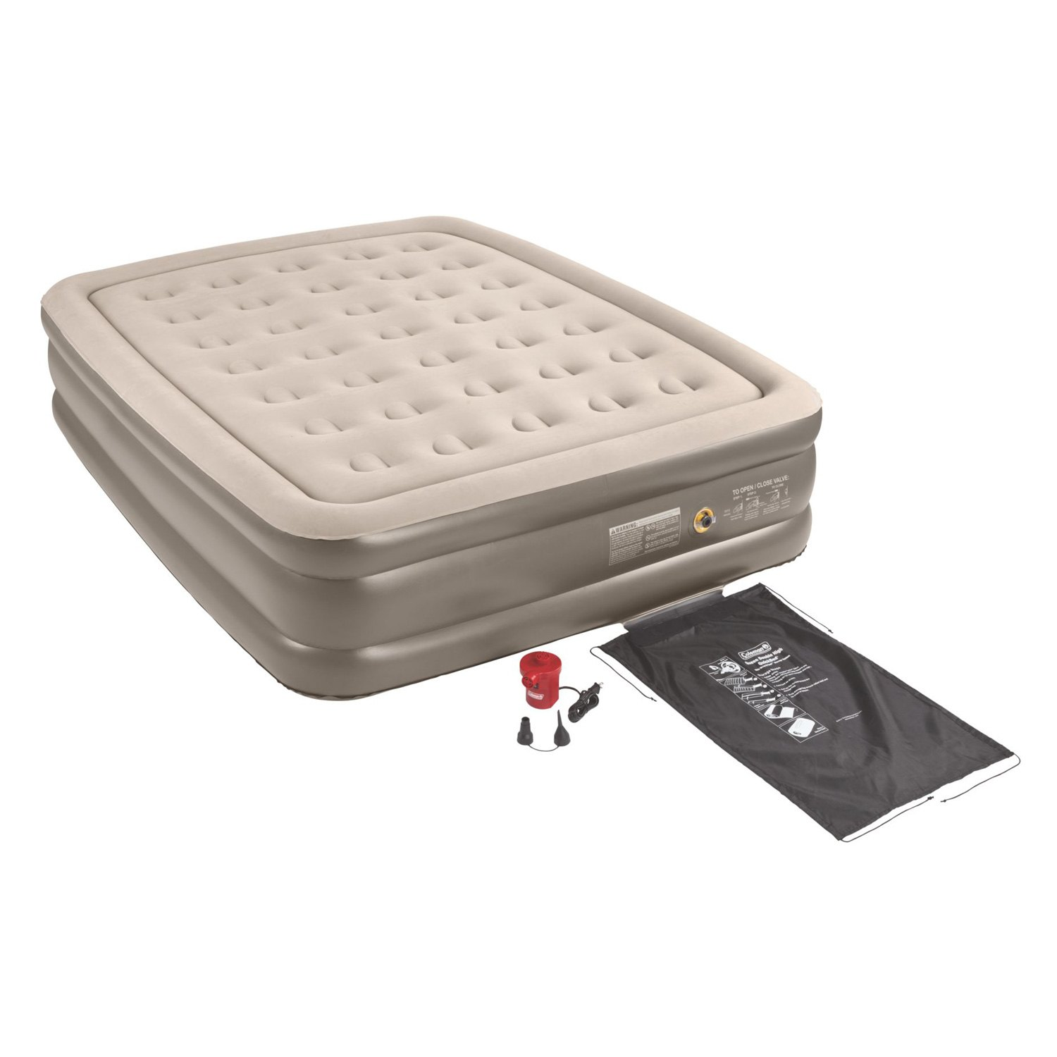 Coleman Air Bed Coleman 174 2000015761 Quickbed Queen Size Double High Air