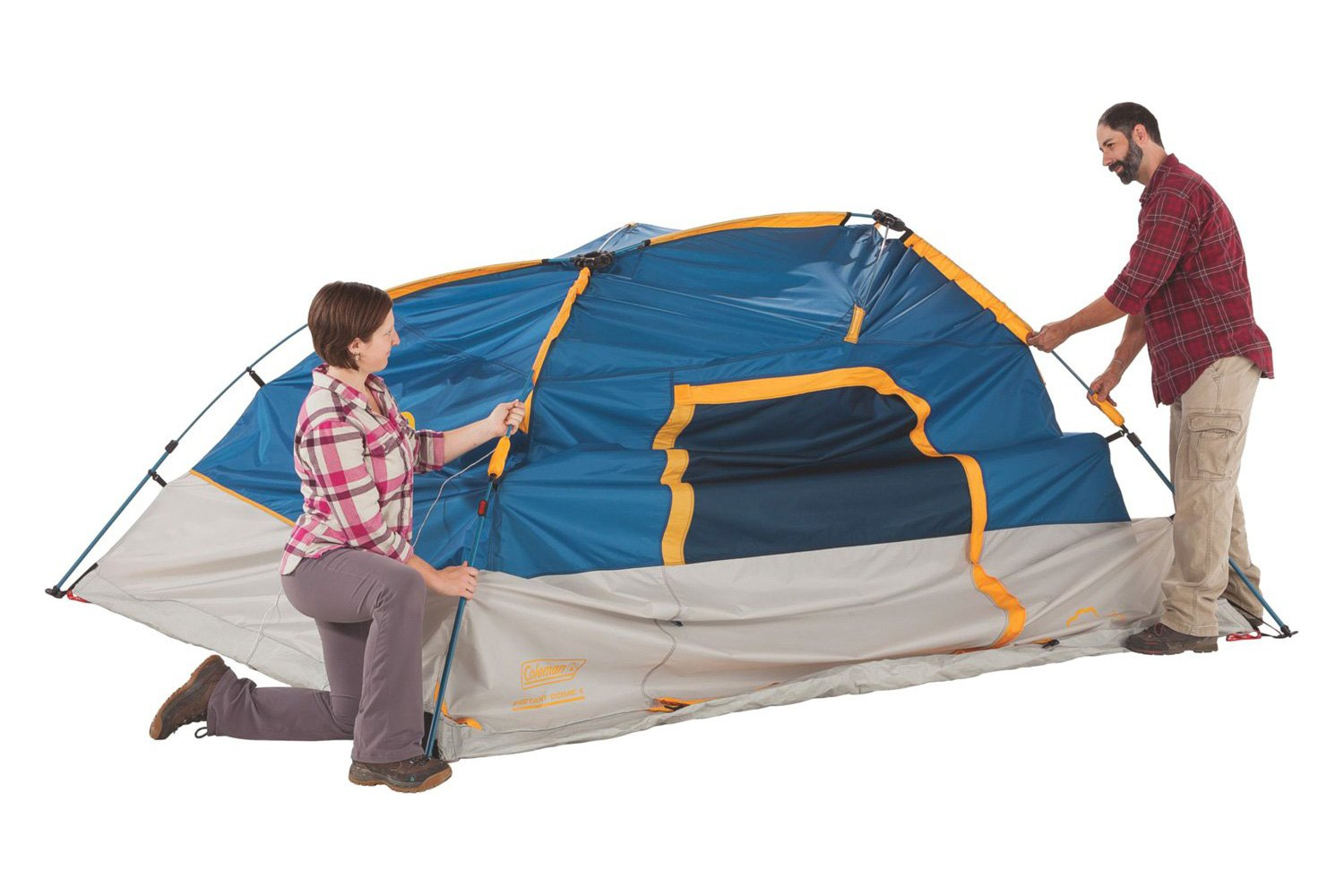 ... Flatiron™ 3-Person Instant Dome Tent ...  sc 1 st  CARiD.com & Coleman® - Flatiron™ Instant Dome Tent