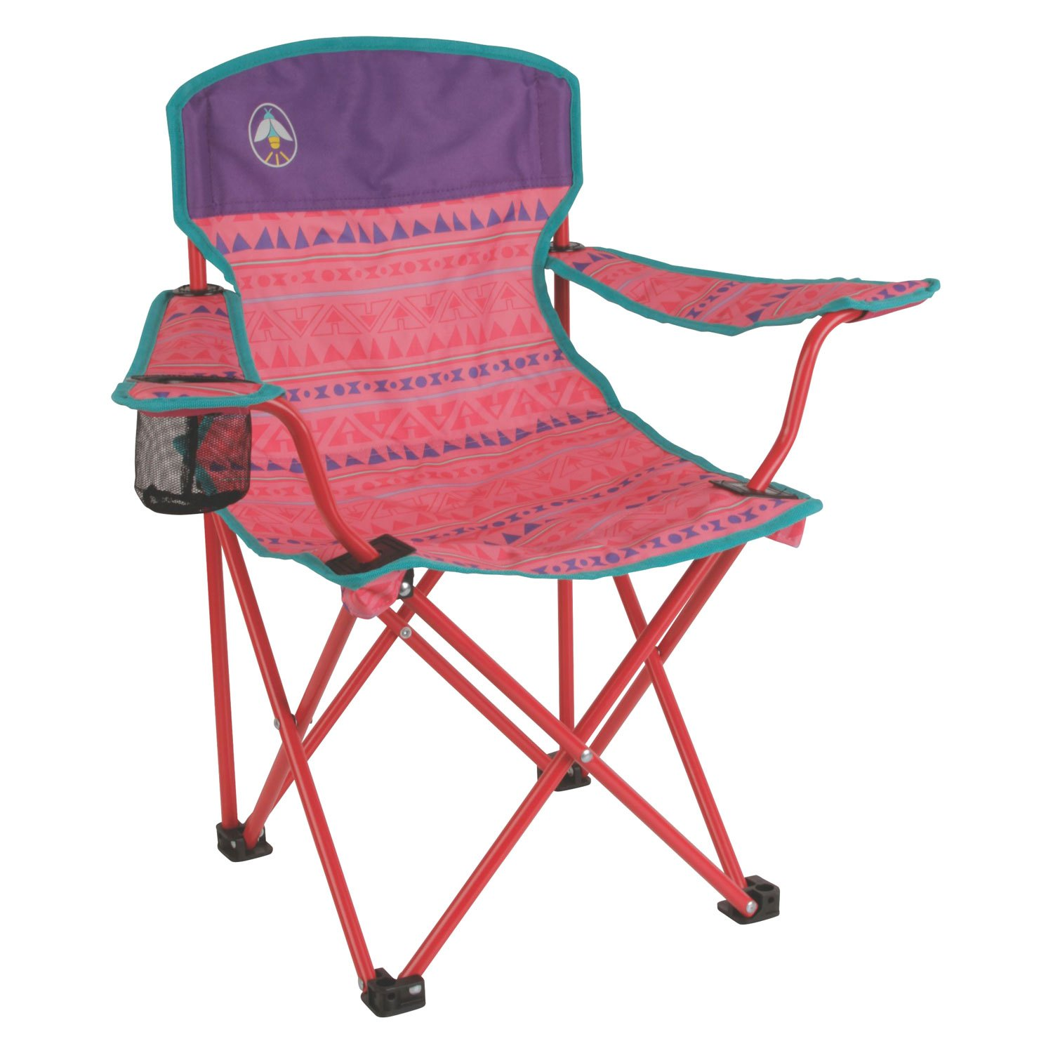 Coleman 2000025293 pink kids quad chair for Pink kids chair