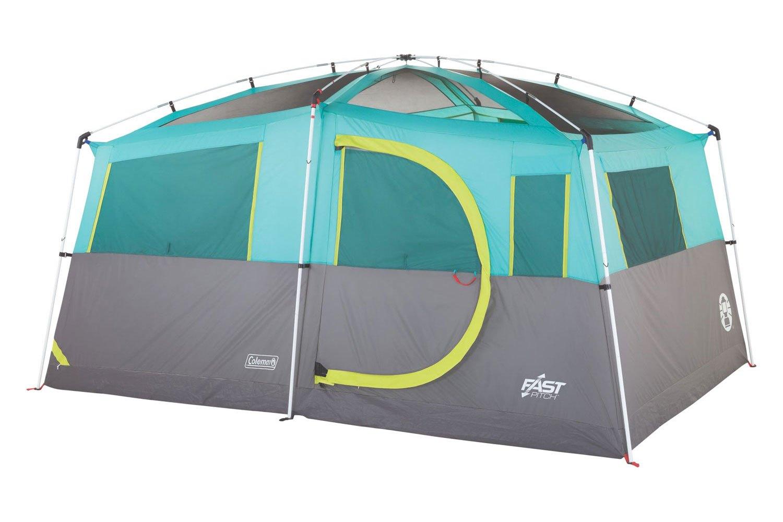 Coleman® - Tenaya Lake™ Lighted Fast Pitch™ 8-Person Cabin TentColeman® ...  sc 1 st  CARiD.com & Coleman® 2000029969 - Tenaya Lake™ Lighted Fast Pitch™ 8-Person ...