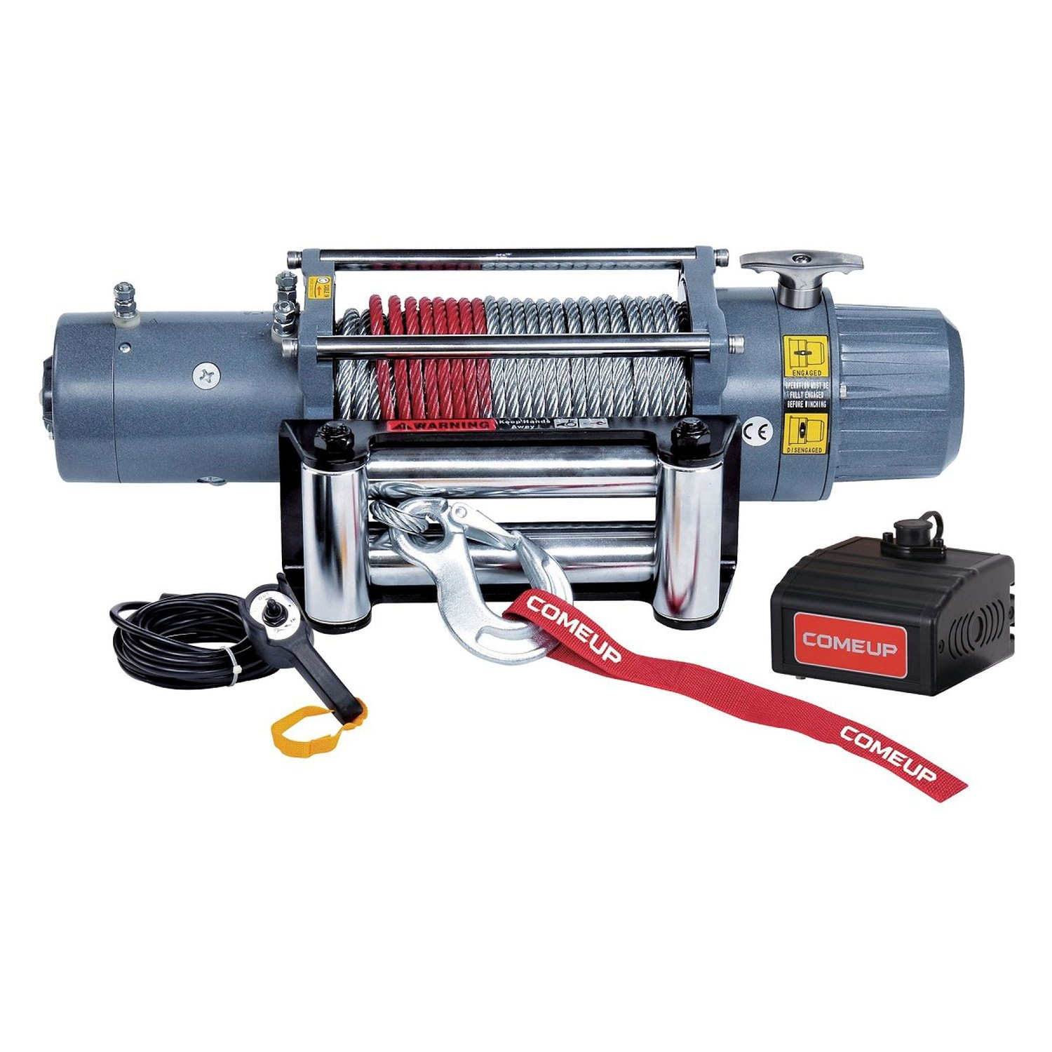 Comeup 856333 9000 Lbs Dv Electric Winch With Wire Rope And Solenoid Switch Wiring Diagram For X Interated