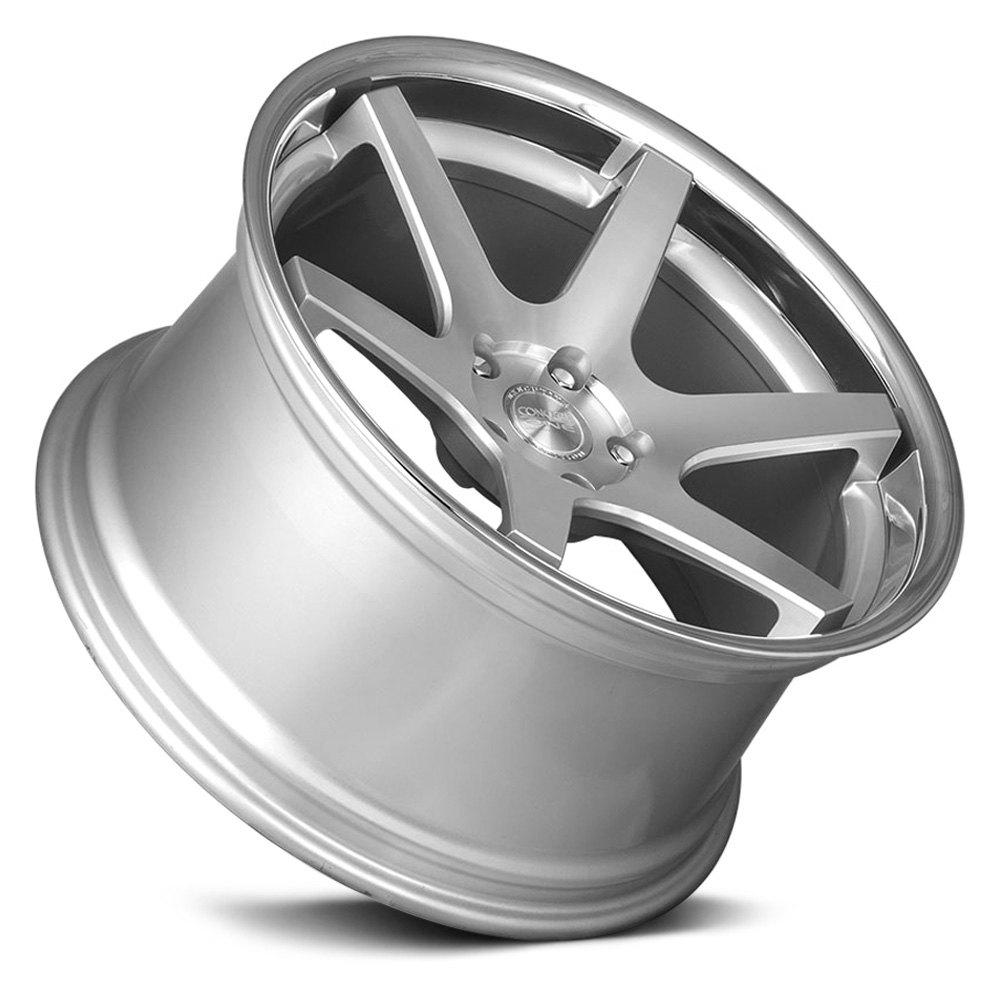 CONCEPT ONE® CS 6.0 Wheels - Silver with Chrome Lip Rims
