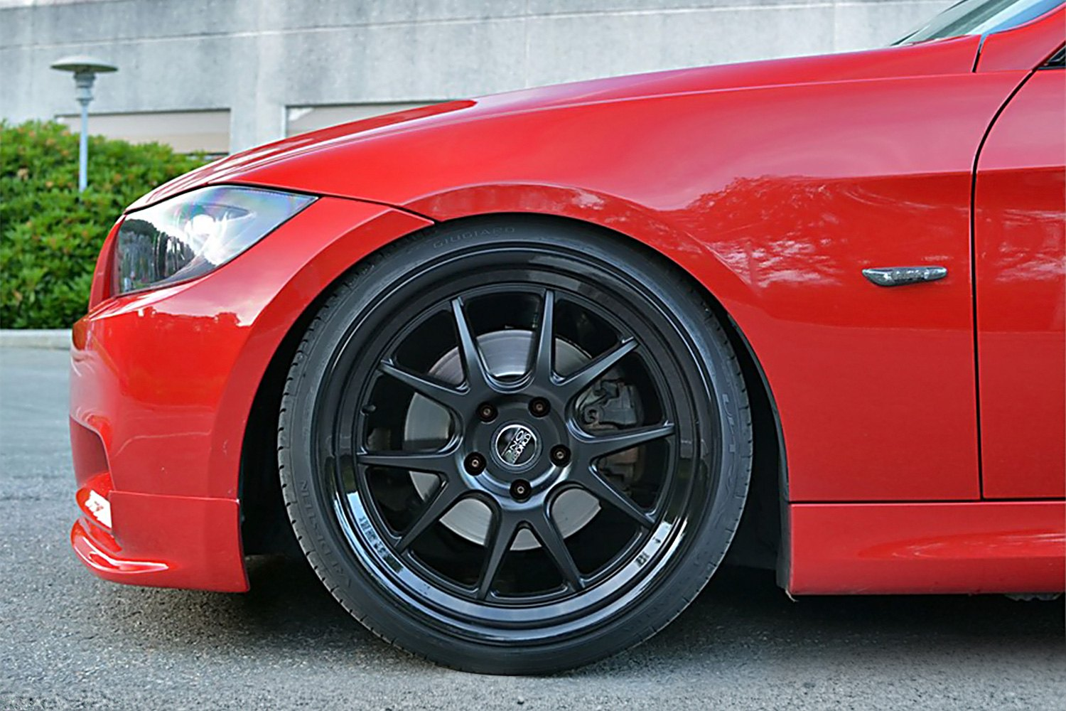 Concept One Csl5 5 Wheels Matte Black With Gloss Black
