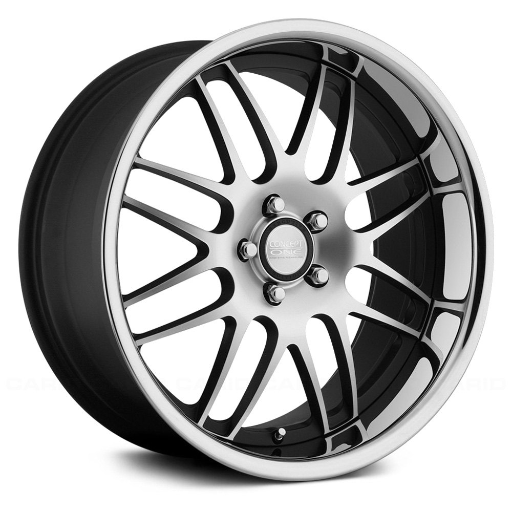 Concept One 174 Rs 8 Wheels Matte Black With Machined Face