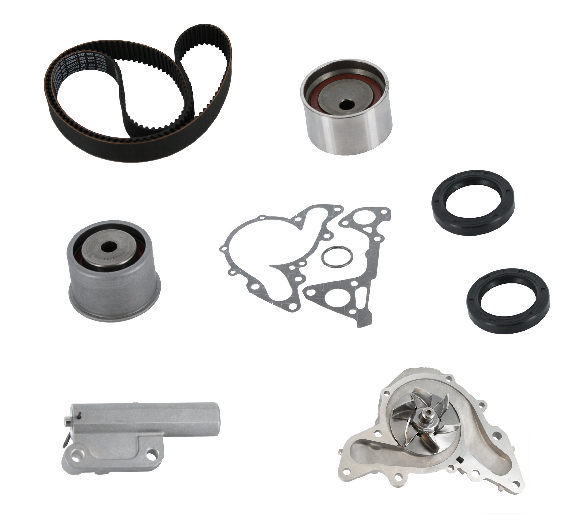 Continental® ContiTech™ PP287LK1 - Pro Series Plus™ Timing Belt Kit with  Water Pump