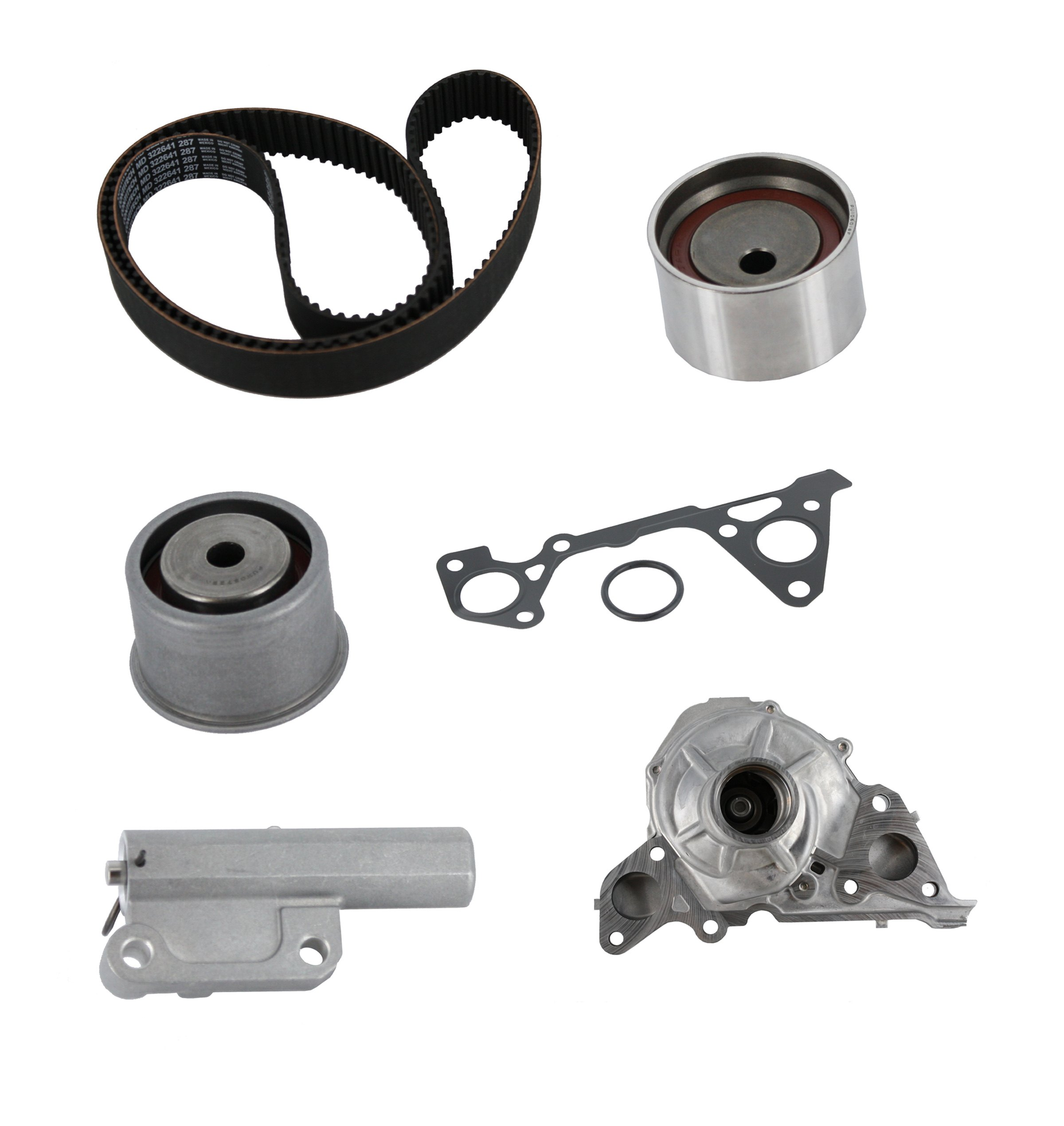Continental® ContiTech™ TB287LK1-WH - Pro Series™ Timing Belt Kit with  Water Pump