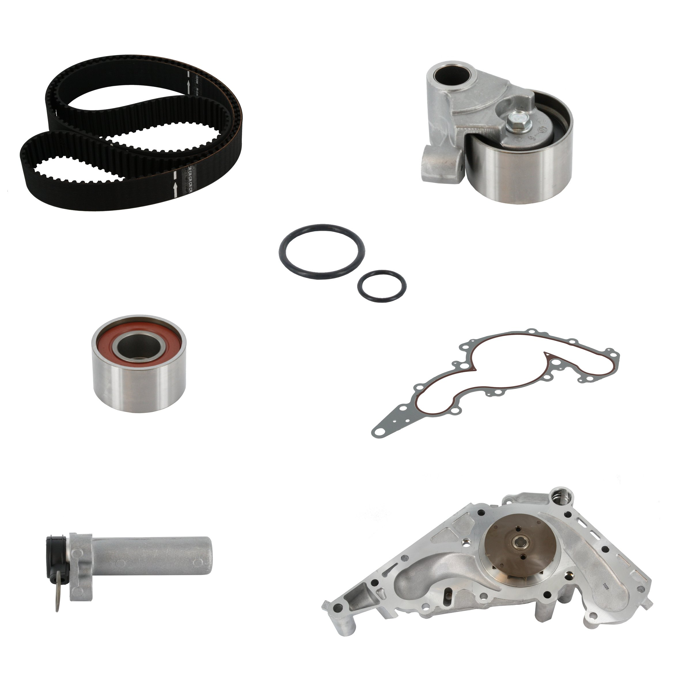 Continental contitech timing belt kit with water