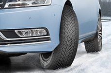 CONTINENTAL® - ContiWinterContact TS850 Tires on Car