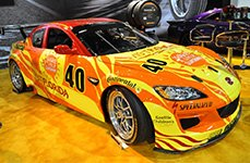 CONTINENTAL® - Racing Tires on Mazda RX-8