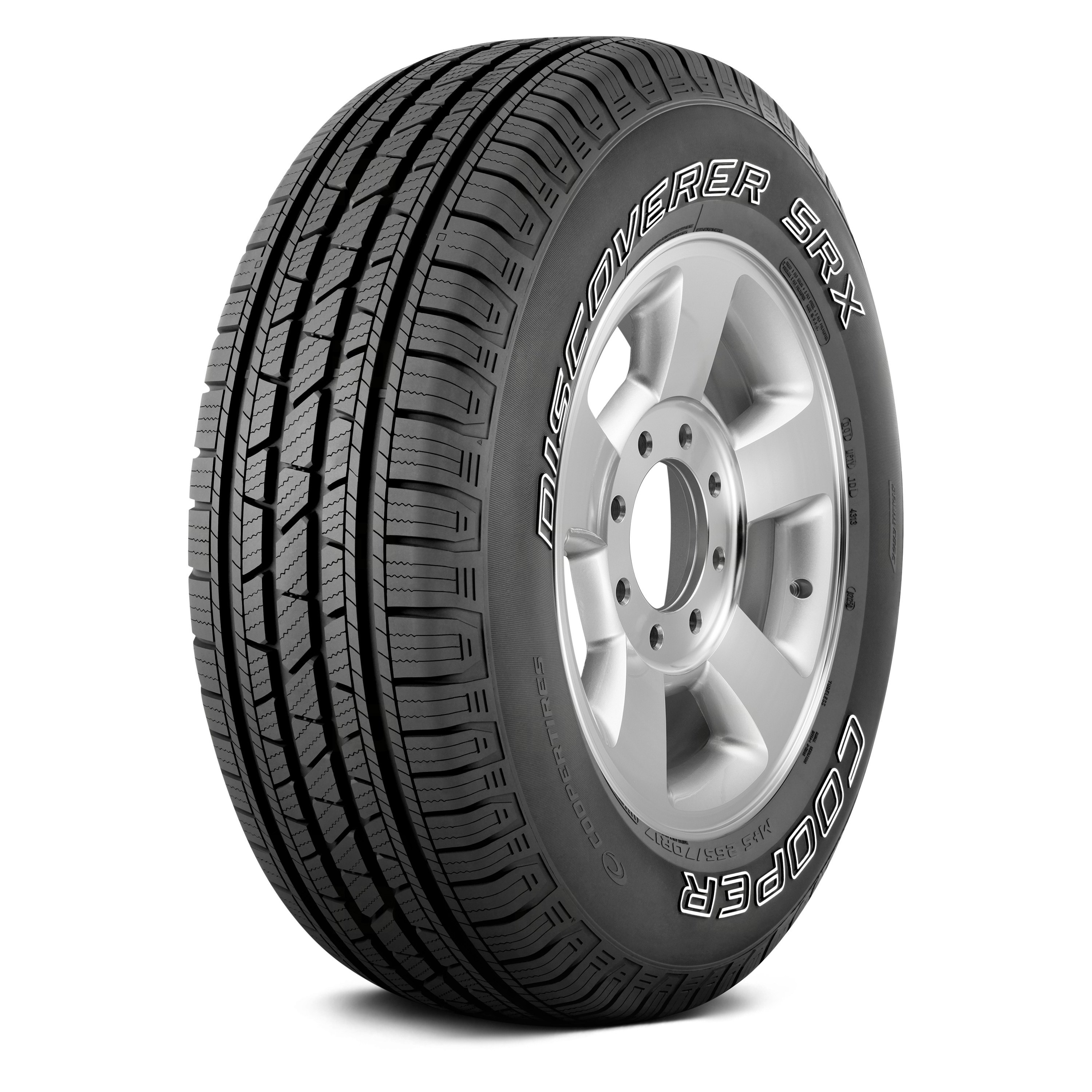 white letters for tires cooper 174 discoverer srx with outlined white lettering tires 25641