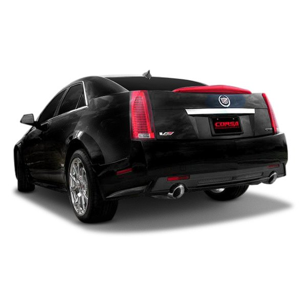 Cadillac Stsv: Cadillac Sts Corsa Exhaust Systems