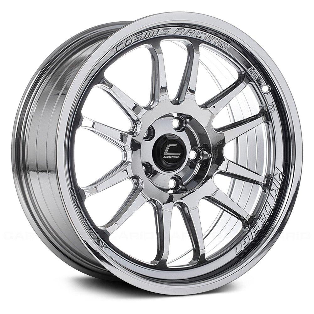 Re Chrome Rims >> Cosmis Racing Xt 206r Black Chrome 18 X 9 33 Offset 5x120 65 Bolt Pattern 74 1mm Hub
