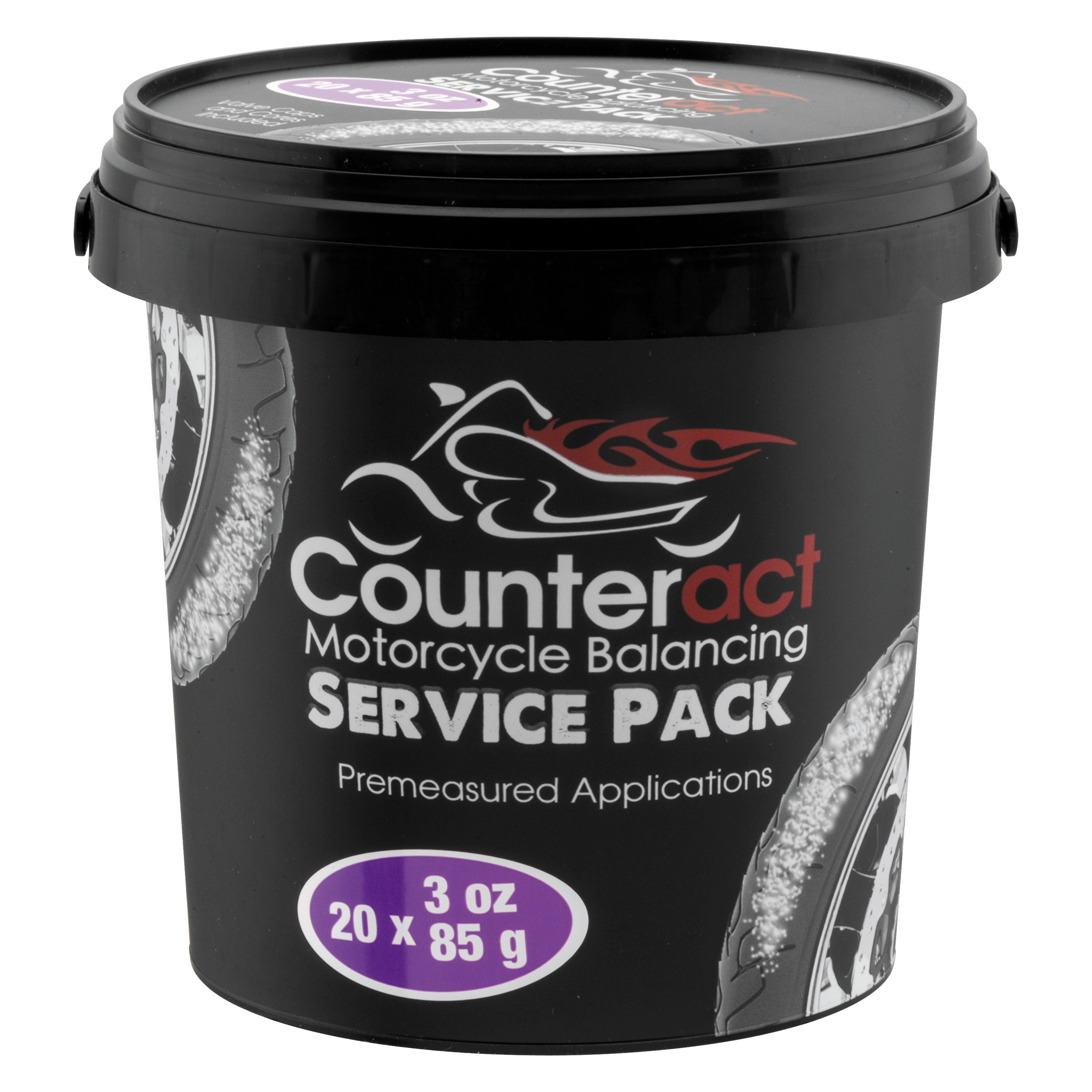 Counteract Tire Balancing Beads and Installation Bottle ATV-3