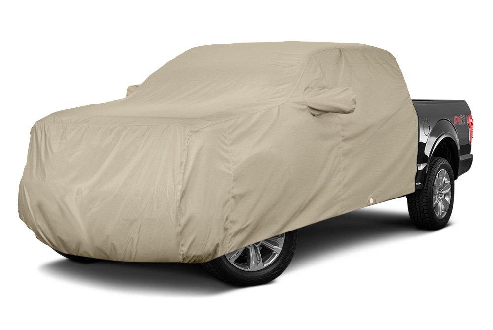 Tan Flannel Car Cover