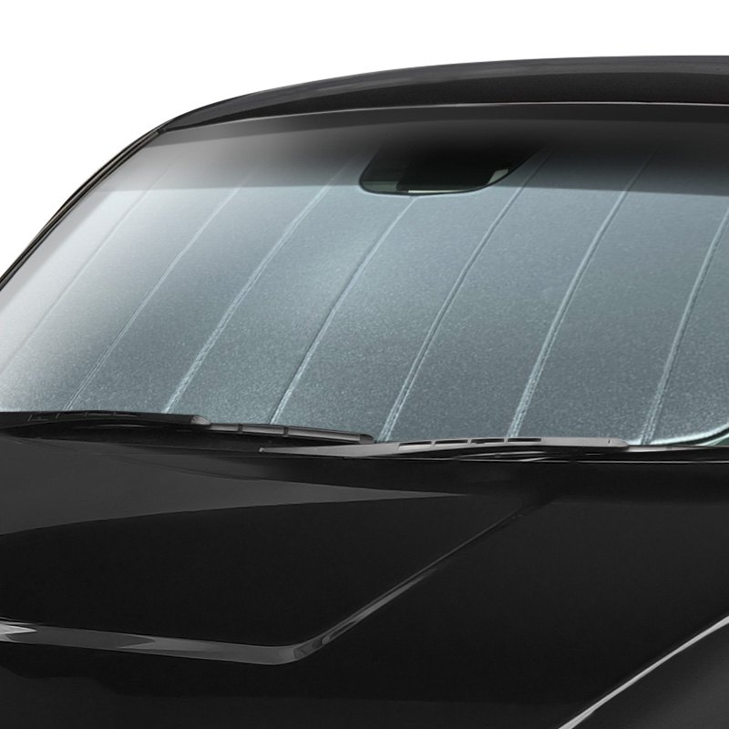 1 Pack Laminate Material Covercraft UV11436SV Silver UVS 100 Custom Fit Sunscreen for Select BMW X1 Models
