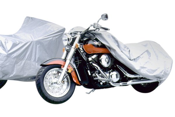 Covercraft Silver Ready Fit Deluxe Motorcycle Cover