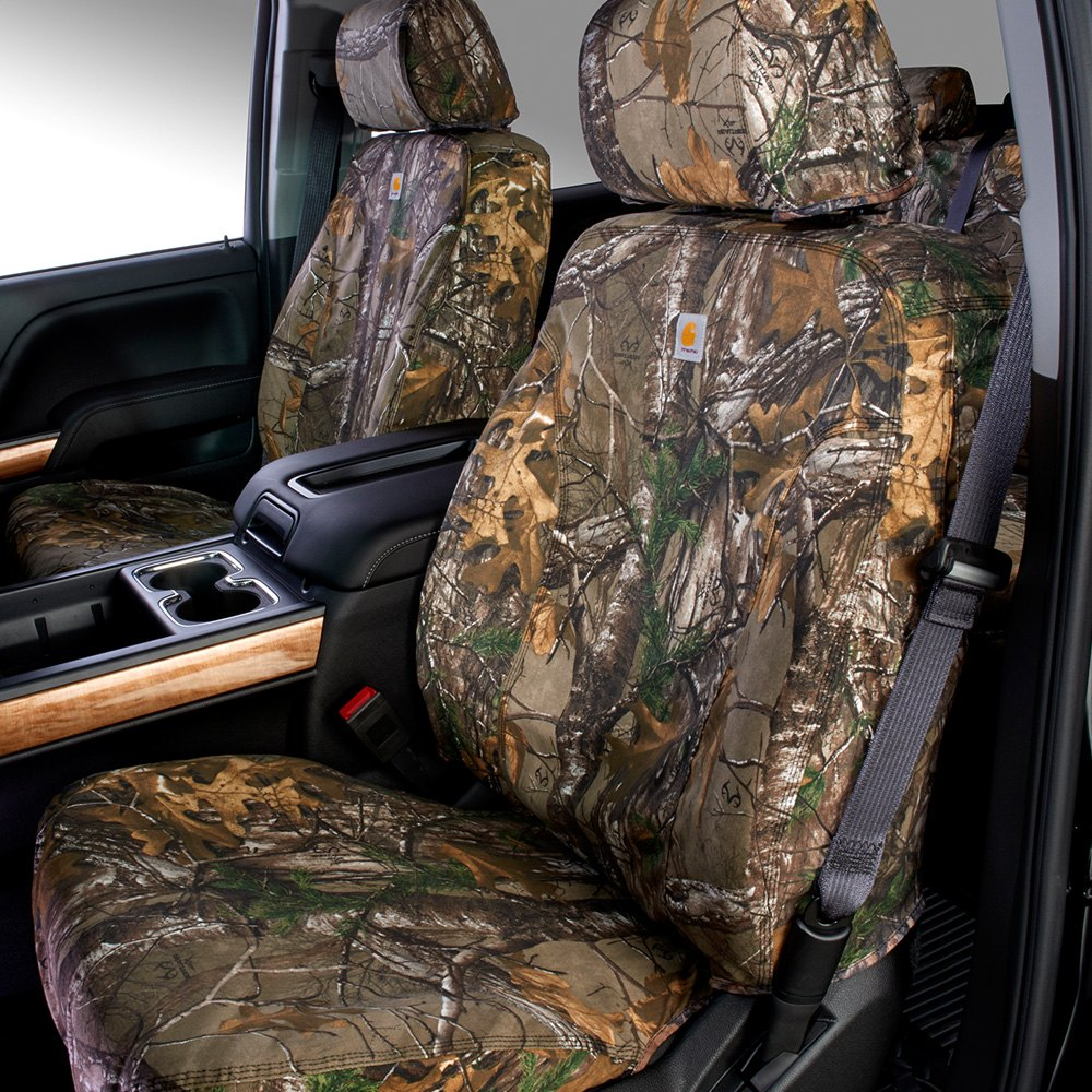 Car craft seat covers -  Row Brown Camo Seat Covers Covercraft Seatsaver Carhartt Realtree Xtra 2nd Row Green Camo Seat Coverscovercraft Carhartt Camo Seatsaver Front