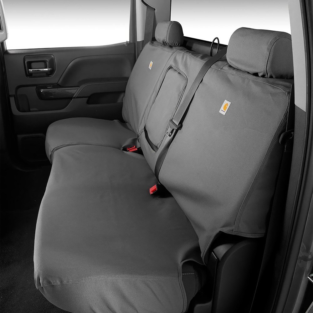 Car craft seat covers -  Covercraft Carhartt 2nd Row Gravel Seat Covers