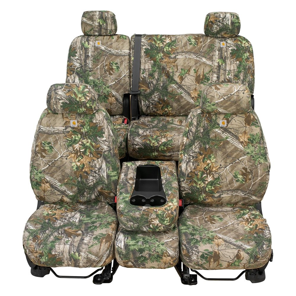Car craft seat covers -  Covercraft Seatsaver Carhartt Realtree Xtra 2 Rows Camo Seat Covers