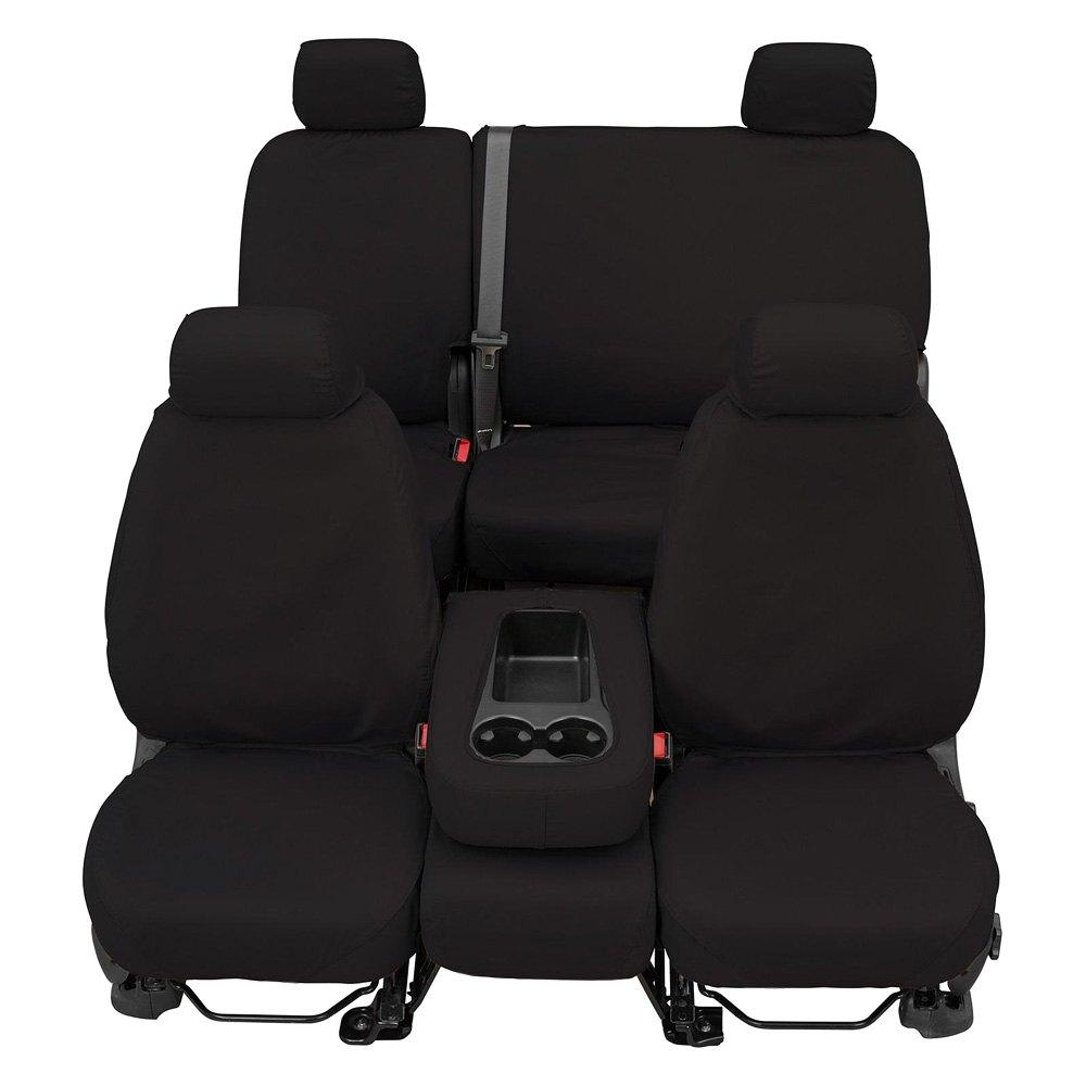 Covercraft® SS3457PCCH - SeatSaver™ Polycotton 1st Row Charcoal Seat ...