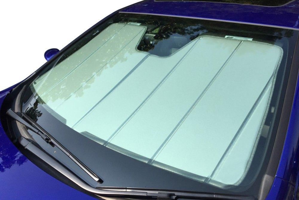 Covercraft UVS100 Blue Metallic Laminate Material Series Heat Shield Custom Fit Windshield Sunshade for Select Mercedes-Benz GLK350 Models