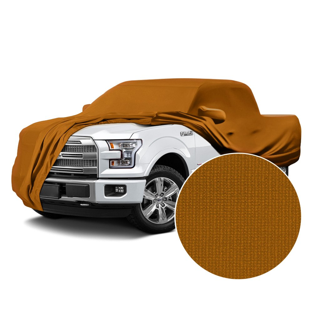 Coverking cvc7ss81ch8420 satin stretch indoor grabber orange custom car cover