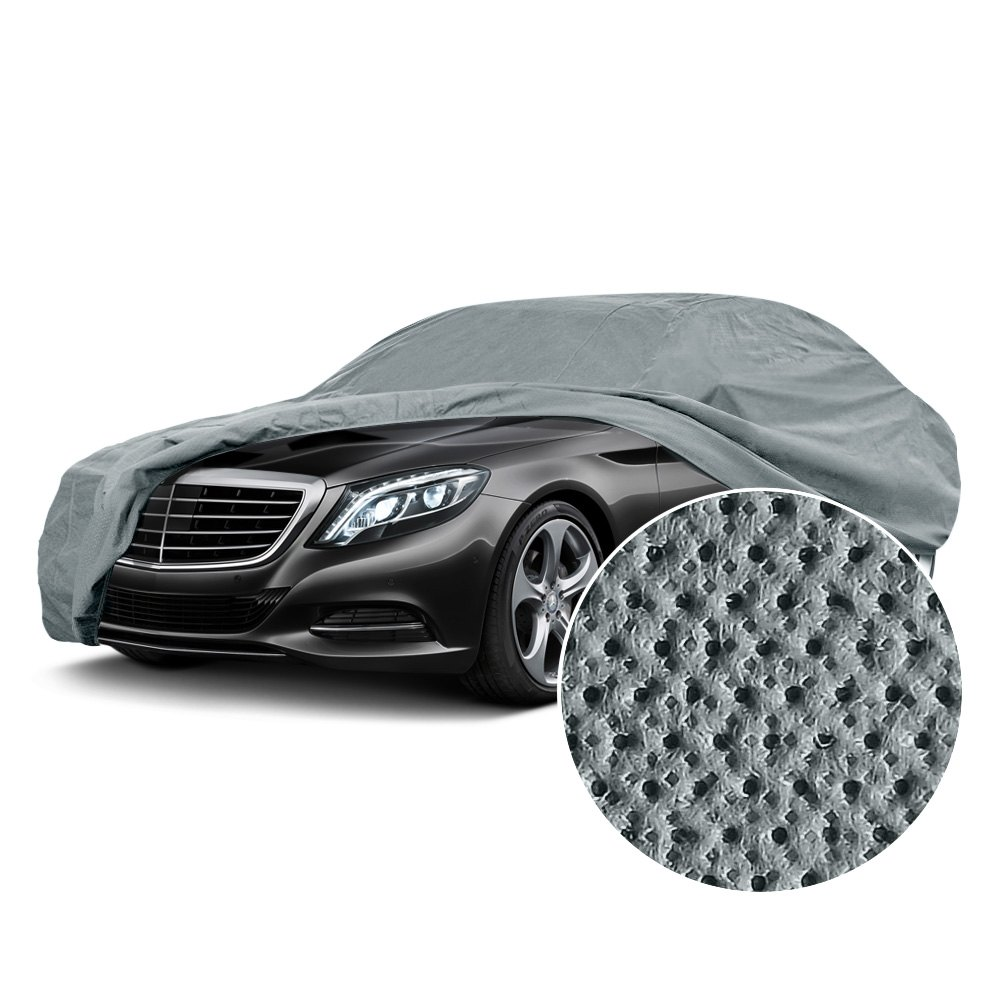Coverking UVCCAR4S98 Universal Fit Cover for Sedan Length 16.9-Feet to 19-Feet Coverguard//Grey