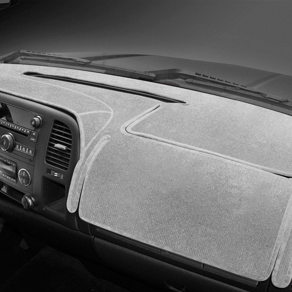 Coverking Custom Fit Dashcovers for Select Dodge Ram 1500 Models Black Velour