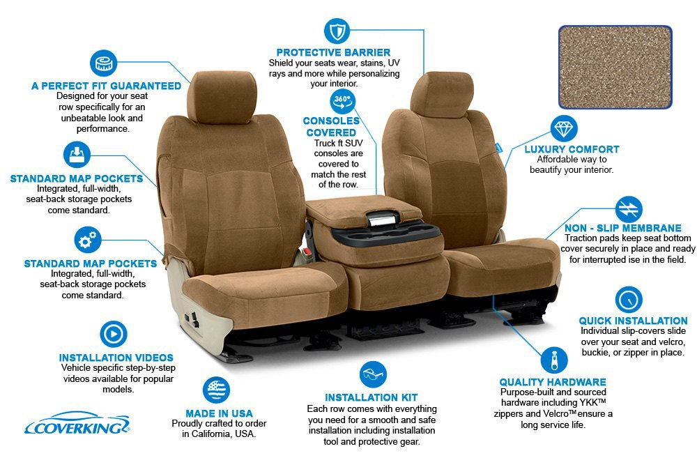 Seat Covers Features