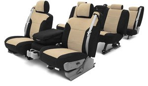 Coverking® - Leatherette Seat Covers Materials