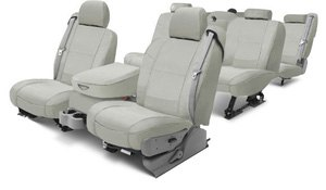 Coverking® - Polycotton Drill Seat Covers Materials