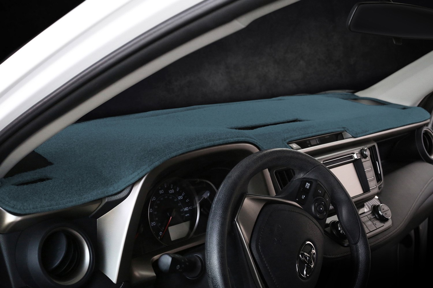 Dark Blue Molded Carpet Coverking Custom Fit Dashcovers for Select Toyota Camry Models